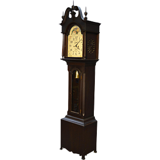 Herschede Antique Grandfather Clock / Smith Patterson