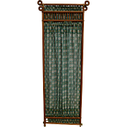 Stick and Ball Oak Dressing Screen