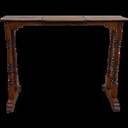 Oak Unusual Music Table