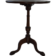 Mahogany Chippendale Ball and Claw Tilt Top Table