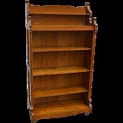 Oak Eastlake Bookcase