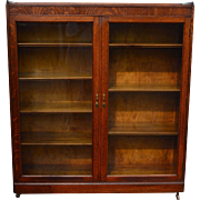 Oak Two Door Bookcase Grand Rapids