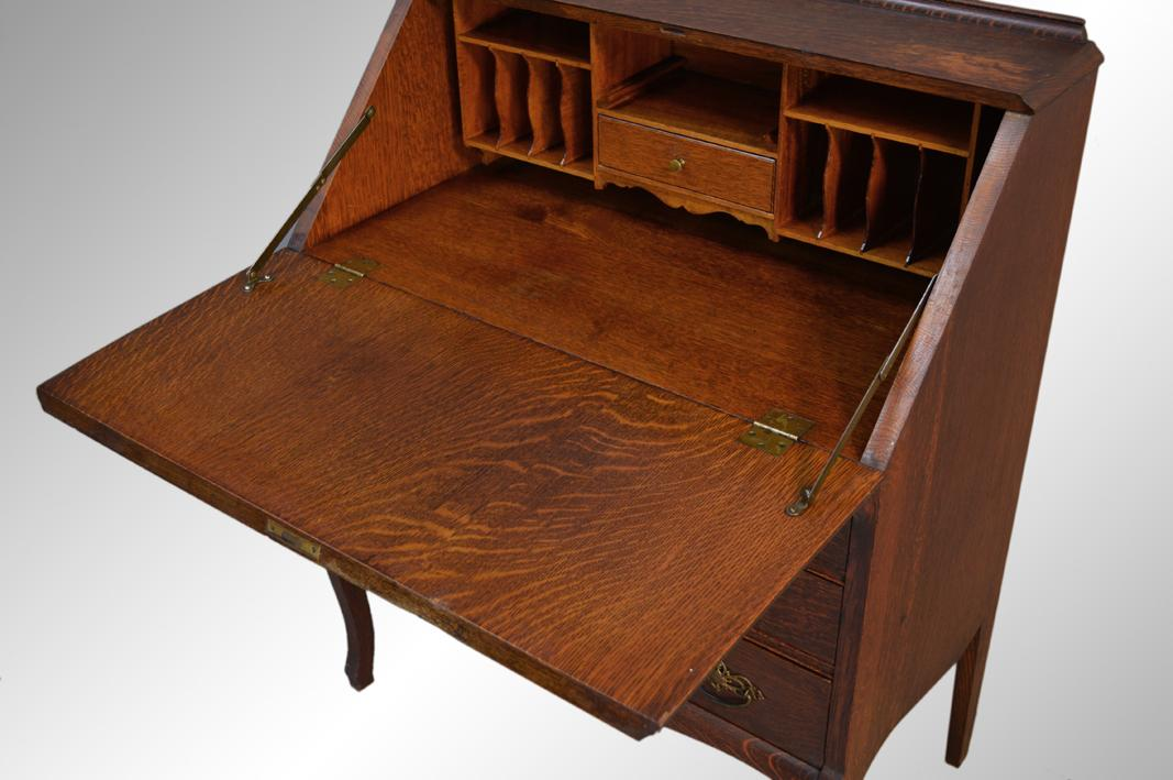 Antique Slant Top Desk - Antique Slant Top Desk Clerk Or Writing Pictures To Pin On Pinterest