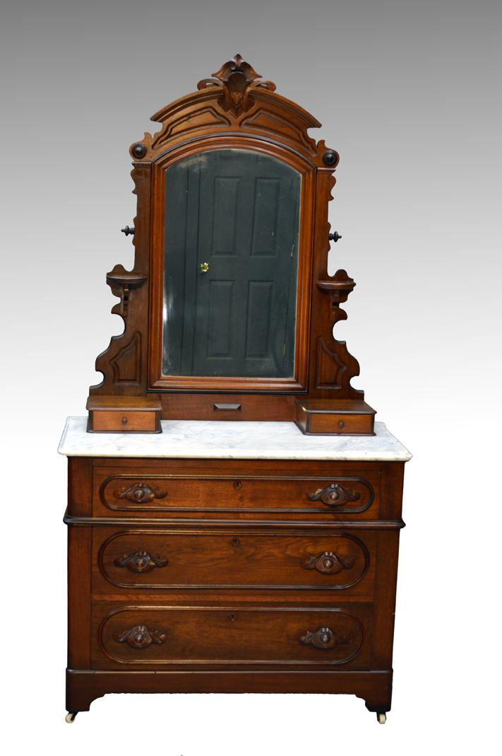 antique 3 three piece victorian marble top bedroom set from maineantiquefurniture on ruby lane
