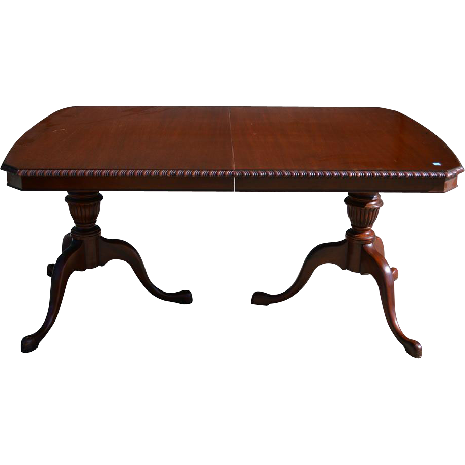 Chippendale Dining Room Table Mahogany Chippendale Dining Room Table By Drexel From