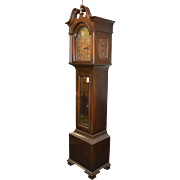 Mahogany Grandfather Clock - Westminster Chimes