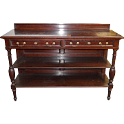 Mahogany Oversized Dining Room Server