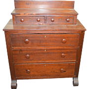 18209 Rare Early Empire Style Miniature Chest