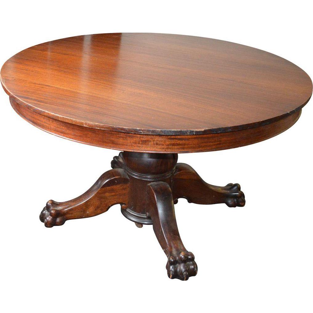 Victorian claw foot split pedestal banquet table w6 leaves from victorian claw foot split pedestal banquet table w6 leaves geotapseo Choice Image