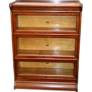 Oak Victorian Sectional Bookcase by Weir