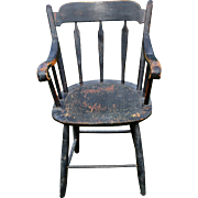 Early Thumb Back Arm Chair