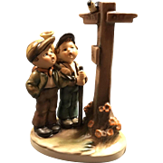 Hummel Goebel Crossroads 331 TMK5 1972 - 1979 6.5 Inches Tall Figurine