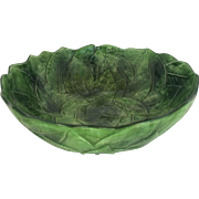 Vietri - Foglia Fresca - Large Vegetable Bowl 11 Inch Top Diameter""