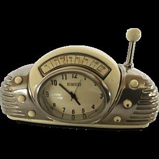 Vintage Miniature Retro Style  Radio Desktop Quartz Clock