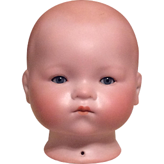 Armand Marseille Germany Bisque Baby Head 341