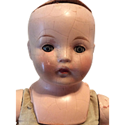 "16""  Horsman Composition Mama Doll"