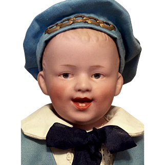 Gebruder Heubach Laughing Character Boy