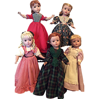 Vintage Set of Madame Alexander Little Women 1948-1956