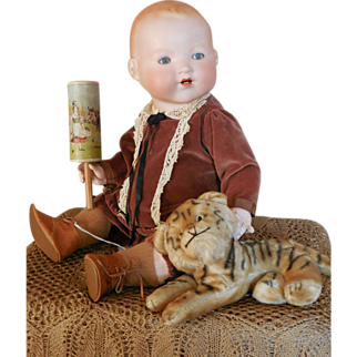 Armand Marseille 351 Character Baby with Tiger