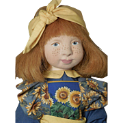 Sarah by Hedy Katin-Beautiful Artist Cloth Doll