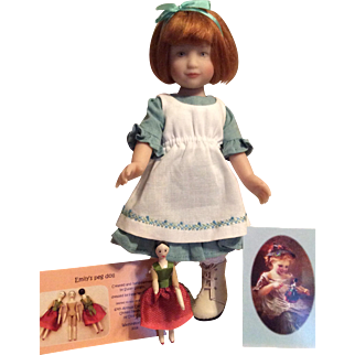 "UFDC ""Kindred Spirits Emily"" Convention Artist Doll by Heather Maciak plus Journal!"