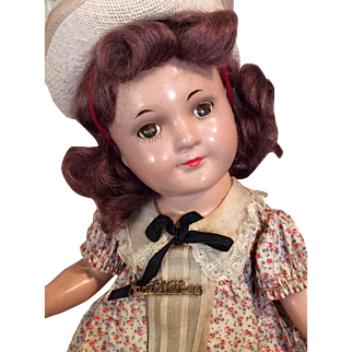 "13"" Jane Withers with Closed Mouth"
