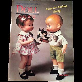 UFDC Doll News- 75th Birthday Patsy-Fall 2003