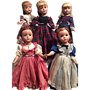 Vintage Set of Madame Alexander Little Women-Beautiful!