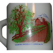 Fire KIng Anchor Hocking Advertising Mug