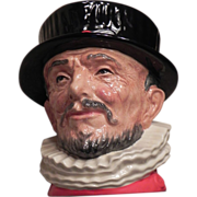 Large royal Doulton Beefeater Hand Decorated 1946