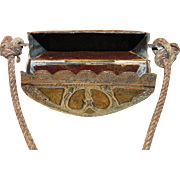 Brass Prayer Book Holder from Morocco