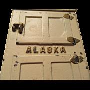 Alaska Toy Ice Box 1926  Salesman's Sample