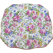 Summertime by Royal Winton England Small Plate