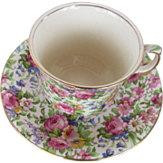 Royal Winton Cup/Saucer Summertime Pattern