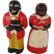 Aunt Jemima & Uncle Moses F & F Mold & Die U.S.A.