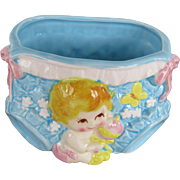 Perfect Baby Shower Gift- Vintage Planter by AAI
