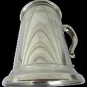 GE Engraved Pewter Jostens Stein England