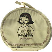 1960s Betsy McCall's Pretty Pac Doll Case