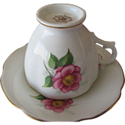 Royal Stewart Bone China English Rose Cup and Saucer