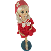 MidCentury Holiday Fair Doll 1963