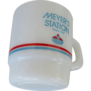 Meyer's Amoco Station Galaxy Oven Proof Mug 1990