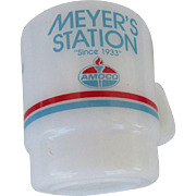 Meyer's Amoco Station Galaxy Oven Proof Mug 1986