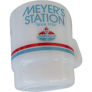 Meyer's Amoco Station Galaxy Oven Proof Mug 1986