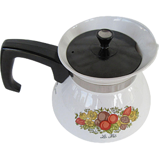 Spice of Life Corning Ware Teapot 6 Cups
