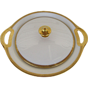 Theodore Haviland Limoges Monarch Pattern Covered Casserole