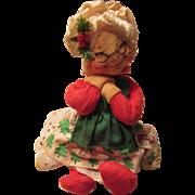 Annalee 1963 Mobiltee Dolls Christmas