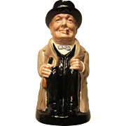 Not The Bust of Winston Churchill : Toby Jug by Royal Doulton