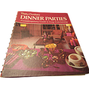 "Betty Crocker""s Dinner Parties by General Mills 1970"