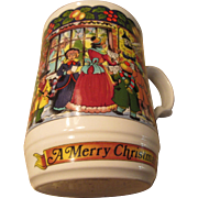 """A Christmas Carol"" Sadler Bone China England"