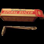 Popeil Bros. Gadget-Master Spiral Slicer 1950s